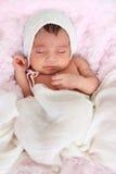 dziewczynka nowonarodzona Zdjęcia Royalty Free