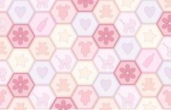 dziewczynka patchwork Fotografia Royalty Free