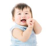 Dziewczynka uśmiech zdjęcie stock