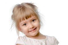 Dziewczynka uśmiech Obraz Royalty Free