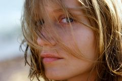 dziewczyno, Zdjęcie Royalty Free