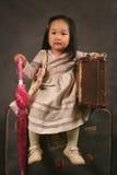 dziewczyno, koreański Zdjęcia Royalty Free