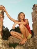 dziewczyno, romantyczna Obraz Royalty Free