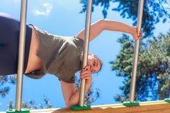 Dziewczyny ćwiczy sprawność fizyczna Obrazy Stock