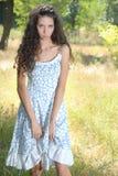 dziewczyny łąka Obrazy Stock