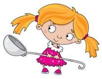 dziewczyny łyżka ilustracji