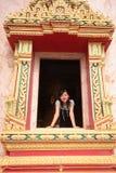 dziewczyny świątynia Zdjęcie Stock