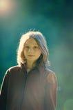 dziewczyny światło słoneczne Zdjęcia Royalty Free