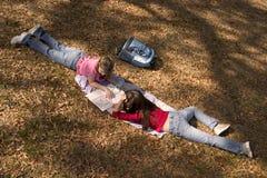 dziewczyny 1 szkoły Fotografia Stock