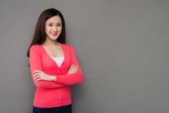 dziewczyny azjatykci się uśmiecha fotografia stock