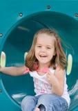 dziewczyny bawić się mały Zdjęcie Stock