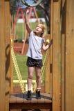 dziewczyny boisko Obrazy Royalty Free