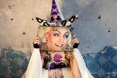 dziewczyny czarodziejski princess Obraz Stock