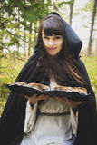 Dziewczyny czarownica z Zdjęcia Royalty Free