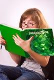 dziewczyny czytanie Obrazy Royalty Free