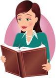 dziewczyny czytanie książki ilustracji