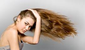dziewczyny długi z włosami obrazy royalty free