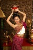 dziewczyny dancingowej uśmiech Fotografia Royalty Free