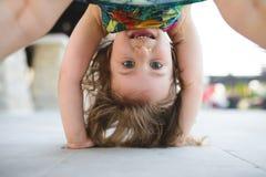dziewczyny do góry Fotografia Royalty Free