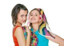 dziewczyny dwa Obraz Stock