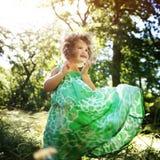 Dziewczyny dziecka dzieci dzieciństwa czasu wolnego Przypadkowy pojęcie Zdjęcie Royalty Free