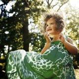 Dziewczyny dziecka dzieci dzieciństwa czasu wolnego Przypadkowy pojęcie Zdjęcie Stock
