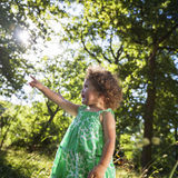 Dziewczyny dziecka dzieci dzieciństwa czasu wolnego Przypadkowy pojęcie Zdjęcia Stock