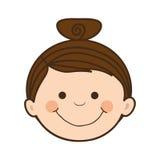 Dziewczyny dziecka ikony wizerunek Zdjęcie Stock
