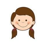 Dziewczyny dziecka ikony wizerunek Fotografia Stock