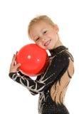 dziewczyny gimnastyczka obraz stock