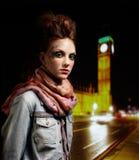 dziewczyny glam ruch punków Zdjęcie Stock