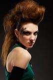 dziewczyny glam ruch punków Zdjęcia Royalty Free