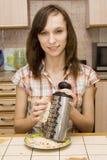 dziewczyny grater fotografia stock
