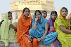 dziewczyny grupują hindusa zdjęcia stock