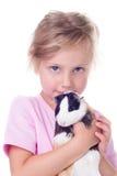 dziewczyny gwinei mała świnia Zdjęcie Stock