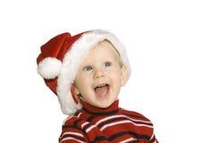 dziewczyny hubcap Santa Zdjęcie Stock
