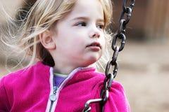 dziewczyny huśtawka Fotografia Stock