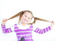 dziewczyny ja target1170_0_ Zdjęcie Royalty Free
