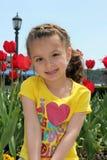 dziewczyny ja target1587_0_ Zdjęcie Royalty Free