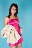 dziewczyny ja target1866_0_ wspaniały Obraz Stock