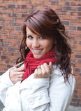 dziewczyny ja target2314_0_ szczęśliwy Obraz Stock