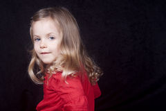 dziewczyny ja target380_0_ mały Zdjęcie Stock