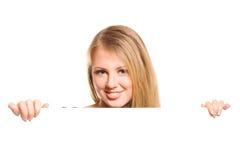 dziewczyny ja target450_0_ Zdjęcie Stock