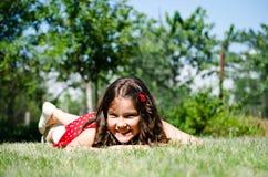 dziewczyny ja target494_0_ Zdjęcie Royalty Free