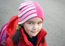dziewczyny ja target699_0_ skromny Fotografia Stock