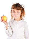 dziewczyny jabłczany mienie Zdjęcia Royalty Free