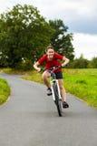 Dziewczyny jechać na rowerze Obrazy Stock