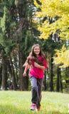 Dziewczyny Jogging obraz stock