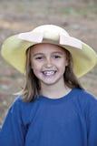 dziewczyny kapeluszowy mały ja target1125_0_ target1126_0_ zdjęcia stock