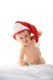dziewczyny kapeluszu czerwień Fotografia Royalty Free